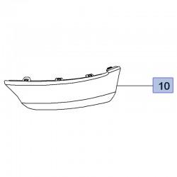 Listwa wykończenia zderzaka przedniego, prawa 95525699 (Grandland X)