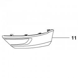 Listwa wykończenia zderzaka przedniego, lewa 95525712 (Grandland X)