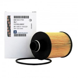 Wkład filtra oleju 95528278 (Astra J, Cascada, Combo D, Corsa D, Meriva B, Zafira C)
