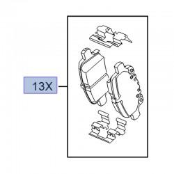 Klocki hamulcowe tył 13517515 (Insignia B)