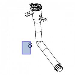 Rura wlewowa zbiornika spryskiwacza 95260753 (Antara)
