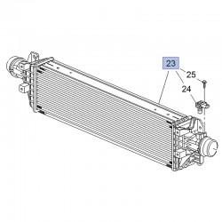 Intercooler, chłodnica pośrednia turbosprężarki 95406939 (Mokka)