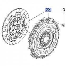 Zestaw sprzęgła 55485511 (Astra K, Zafira C)