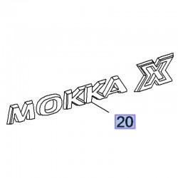 Napis tylny MOKKA X 42481258 (Mokka X)