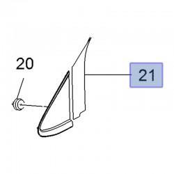 Wypraska ramy okna, prawa 95144599 (Mokka)