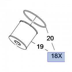 Filtr oleju, wkład 3646431 (Combo E, Crossland X, Grandland X)