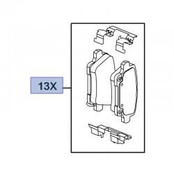 Klocki hamulcowe tylne 13517694 (Insignia B)
