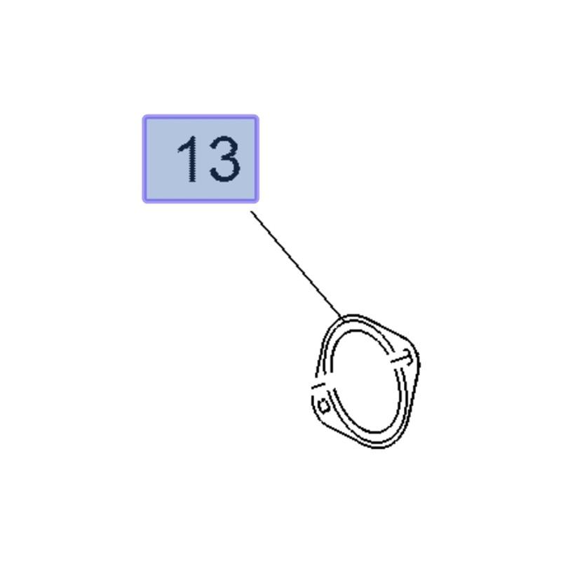 Uszczelka rury wydechowej 22816982 (Cascada, Insignia A, B, Zafira C)