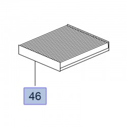 Filtr kabinowy 13271191 (Astra J, Cascada, Insignia A, Karl, Meriva B, Mokka, Zafira C)