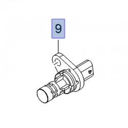 Czujnik położenia wału korbowego 55571978 (Antara, Astra J, Cascada, Insignia A, B, Zafira C)