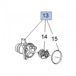 Termostat z obudową 25200454 (Adam, Astra J, Corsa D, E, Meriva B)