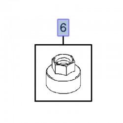 Nakrętka kolektora wydechowego 55557769 (Astra H, J, Insignia A, Mokka, Signum, Vectra C, Zafira B, C)