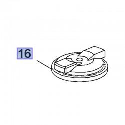 Nakrętka szydełkowa koła zapasowego 11562183 (Insignia B, Mokka X)