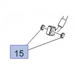 Uszczelka przewodu hamulcowego 21012386 (Astra J, K, Cascada, Insignia B, Mokka, GT, Sintra, Zafira C)