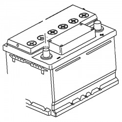 Akumulator 12V 64AH 95527531 (Insignia A)