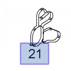Uszczelka filtra oleju 55283614 (Agila A, B, Astra H, Combo D, Corsa C, D, Meriva A, Tigra B)
