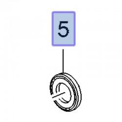 Uszczelniacz wałka rozrządu 55580121 (Antara, Cascada, Insignia A, B, Zafira C)