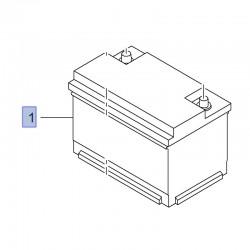 Akumulator 12V 70Ah 93457914 (Combo E, Crossland X, Insignia B, Vivaro B)