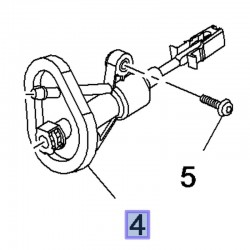 Pompa sprzęgła 96887800 (Mokka)