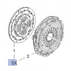 Zestaw sprzęgła 93194076 (Astra H, J, Combo C, Meriva A, B, Tigra B, Vectra C, Zafira B)