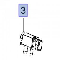 Czujnik ciśnienia spalin 55599659 (Antrara, Astra J, K, Cascada, Corsa E, Insignia A, B, Meriva B, Mokka, Zafira C)
