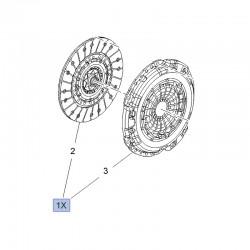 Zestaw sprzęgła (tracza+docisk) 95518831 (Adam, Astra J, Corsa D, E, Mokka, Meriva B, Insignia, Zafira C)