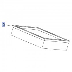 Filtr powietrza 3639671 (Combo E)