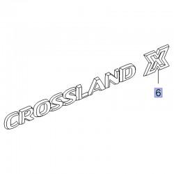 Napis na tylna klapę CROSSLAND X 39021073 (Crossland X)