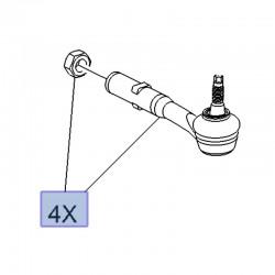 Końcówka drążka kierowniczego 3556146 (Crossland X)