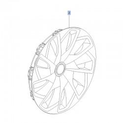 Kołpak koła stalowego 15 cali 13471417 (Crossland X)