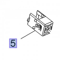 Zacisk blokady pręta pedału hamulca 39081933 (Astra J, K, Cascada, Zafira C)