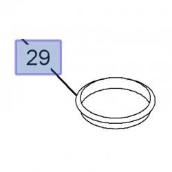 Uszczelka obudowy filtra oleju 12580255 (Antara, Astra G, H, J, Insignia A, GT, Signum, Vectra B ,C, Zafira B)