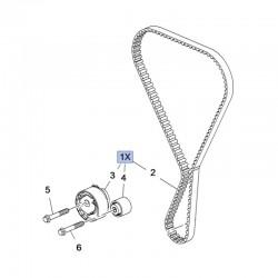 Zestaw naprawczy rozrządu 1.2 1623231680 (Corsa F, Crossland X)