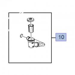 Króciec, łącznik zbiornika spryskiwacza 9816645880 (Combo E)
