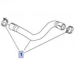 Wąż, przewód górny chłodnicy 9814452980 (Crossland X)