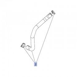 Wąż, przewód dolny chłodnicy 9814453880 (Crossland X)