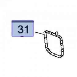 Uszczelka obudowy termostatu 1.2 9802853980 (Combo E, Crossland X)