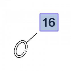 Uszczelka rury termostatu 1.5 3557016 (Combo E, Crossland X)
