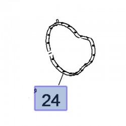 Uszczelka pompy wody 1.5 1628942180 (Combo E, Crossland X)