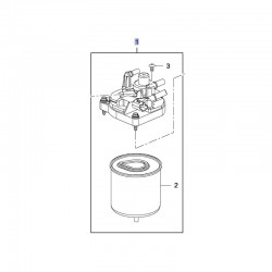 Filtra paliwa 1.6 93476511 (Combo E, Crossland X)