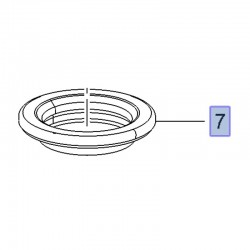 Łożysko poduszki amortyzatora 503527 (Crossland X)