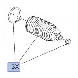 Osłona, manszeta drążka kierowniczego 3556145 (Crossland X)