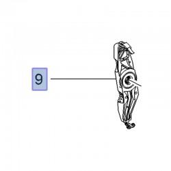 Wspornik amortyzatora tylnego 3637071 (Crossland X)