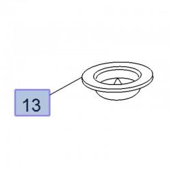 Guma sprężyny tylnej, górna 3637289 (Crossland X)