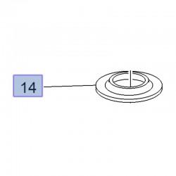 Guma sprężyny tylnej, dolna 3637288 (Crossland X)
