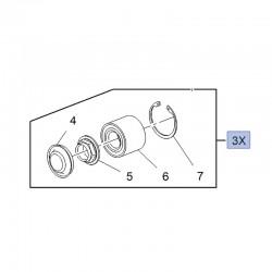 Zestaw naprawczy piasty tylnej 374890 (Crossland X)