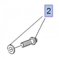 Śruba piasty tylnej 9675531980 (Crossland X)