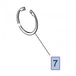 Pierścień sprężynujący tylnej piasty 3637299 (Crossland X)