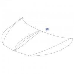 Maska, pokrywa silnika 39111083 (Crossland X)