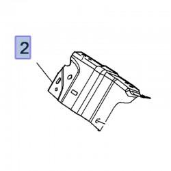 Uchwyt, mocowanie błotnika przedniego lewe 39018599 (Crossland X)